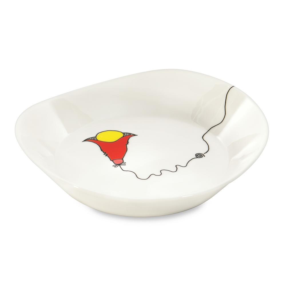 Eclipse Codriez Porcelain Soup Plate (Set of 2)