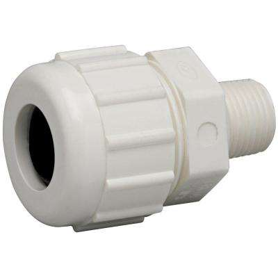 1 in. PVC Compression x Male Repair Adapter