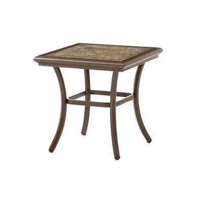 Walton Springs Aluminum Outdoor Accent Table