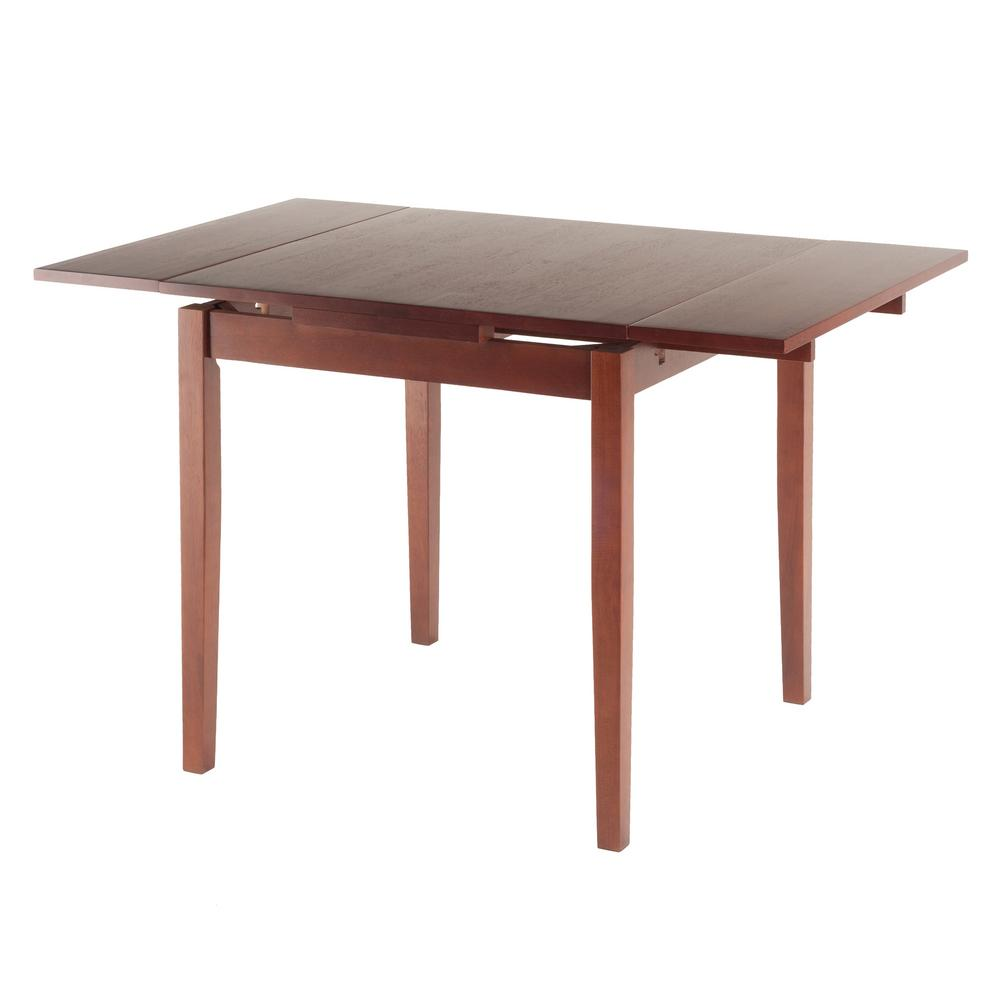 Exceptionnel Winsome Wood Pulman Walnut Extension Table