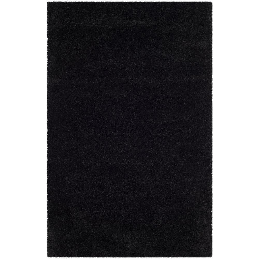 Milan Shag Black 9 ft. x 12 ft. Area Rug