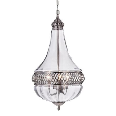 Permin Empire 3-Light Nickel Pendant
