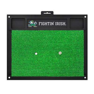 NCAA Notre Dame 17 in. x 20 in. Golf Hitting Mat