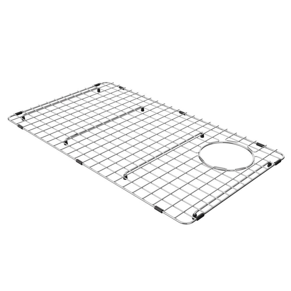 KRAUS Bellucci Stainless Steel Kitchen Sink Bottom Grid with Soft Rubber Bumpers for KGF1-30 30 in. Kitchen Sink