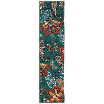 Whinston Multi 2 ft. x 8 ft. Runner