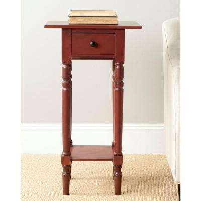 Sabrina Red End Table