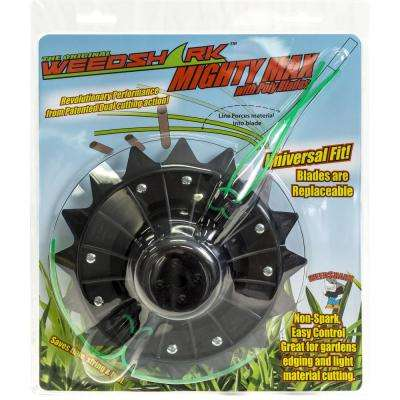 Mighty Max 16 in. Hybrid brush and grass trimmer head