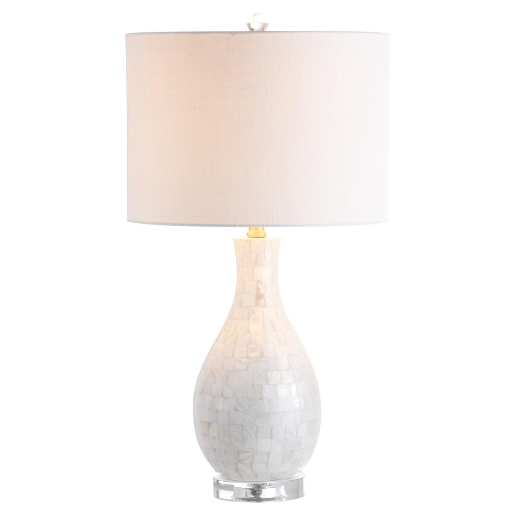 Safavieh Nikki 21 5 In Shell Table Lamp Set Of 2