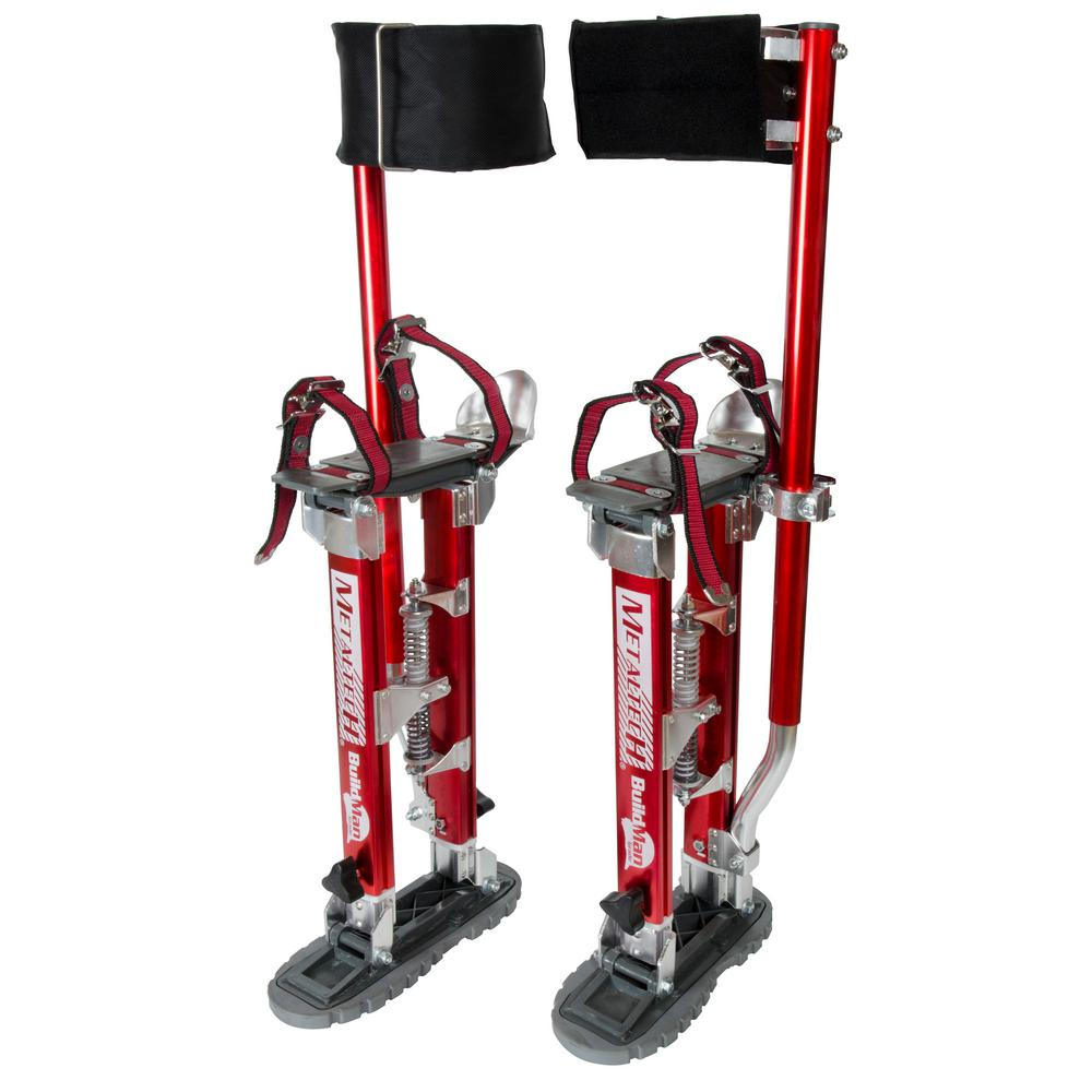 Buildman Grade 18 in. to 30 in. Adjustable Drywall Stilts