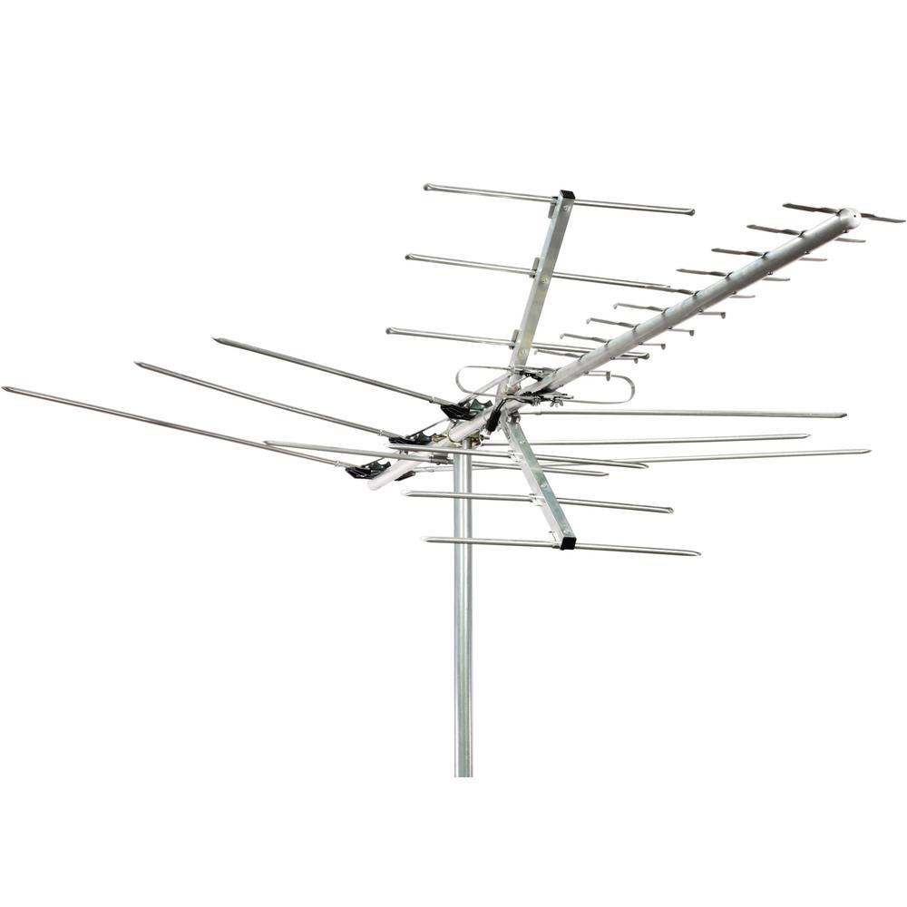 channel master deep fringe masterpiece 100-mile range outdoor antenna-cm-5020