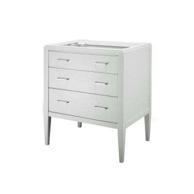 Manhattan 24 in. W Vanity Cabinet Only in White