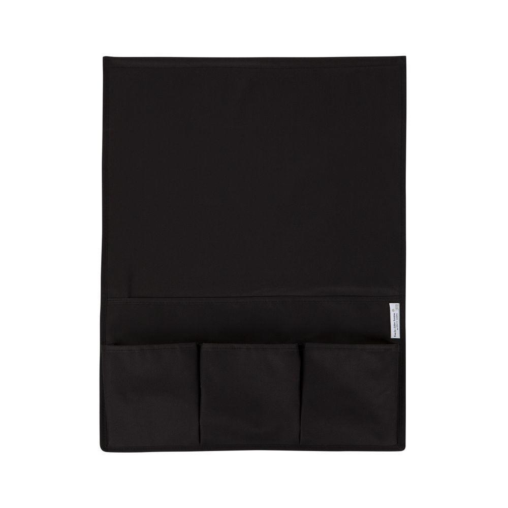 Storit Small Black Polyester Bedside Storage Caddy 1-Pack