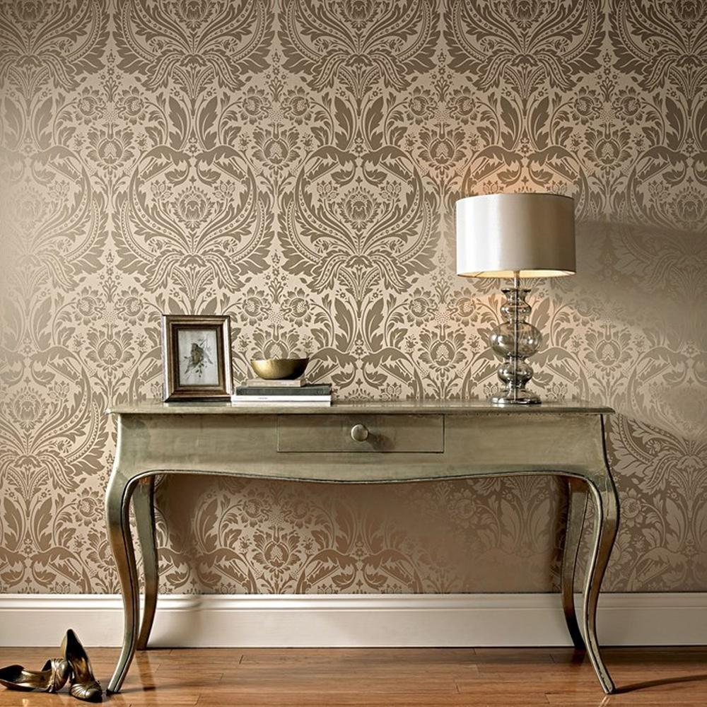Desire Beige Wallpaper
