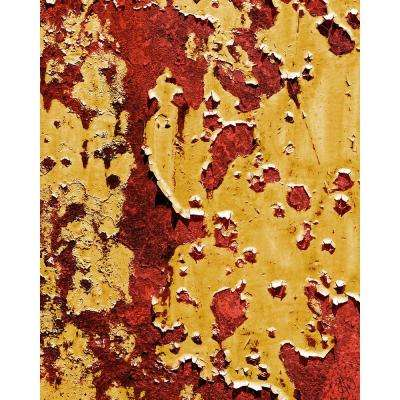 """16 in. x 20 in. """"Flaking Wall Caution"""" Acrylic Wall Art Print"""