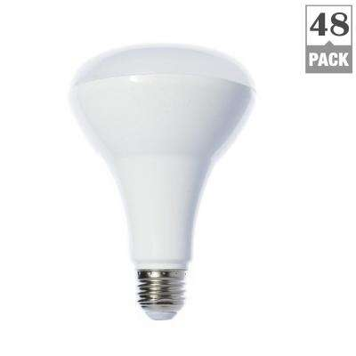 65W Equivalent Warm White (2700K) BR30 Dimmable LED Bulb (48-Pack)