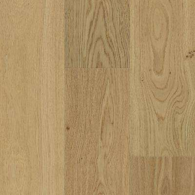 Waterproof Flooring Sand Natural Oak 6.5 mm T x 6.5 in.W x 48 in. Engineered Hardwood Flooring (21.67 sq. ft. / case)