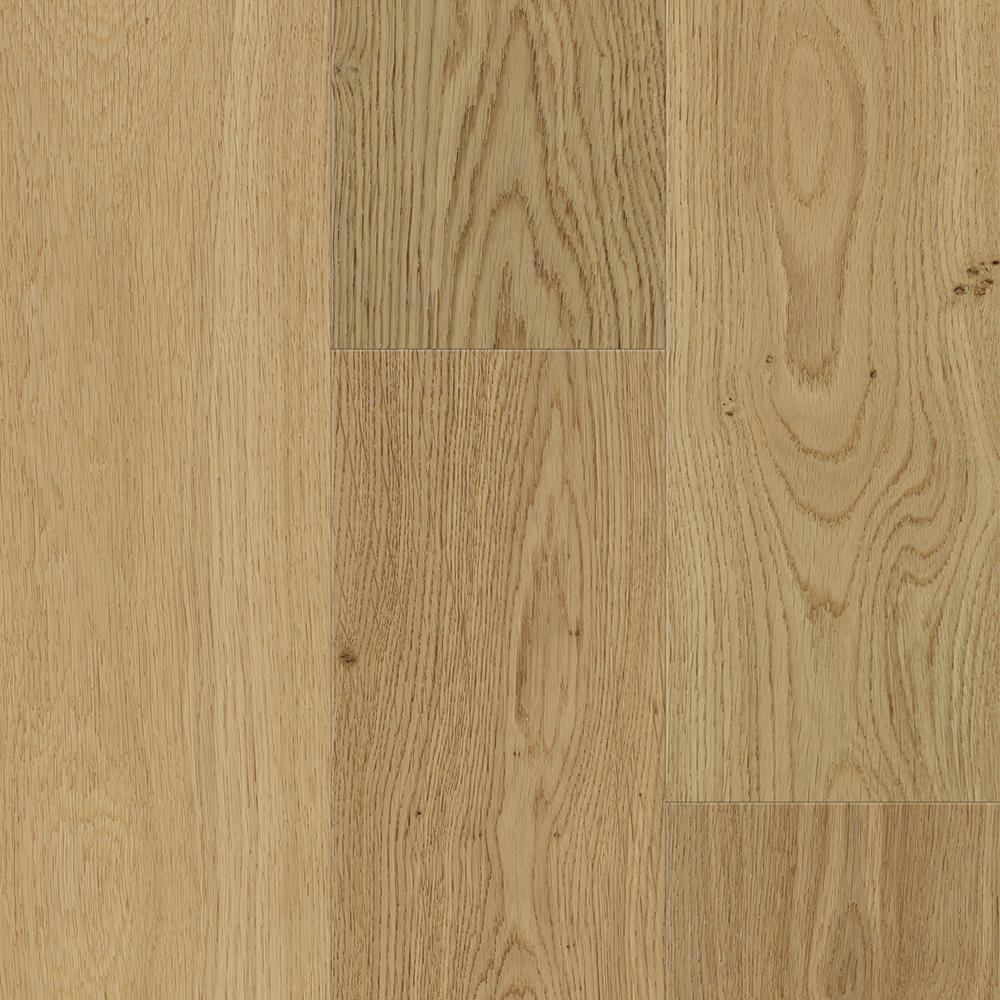 Waterproof Flooring Sand Natural Oak 6.5 mm T x 6.5 in.W x 48 in. Engineered Hardwood Flooring (21.67 sq. ft. / case)
