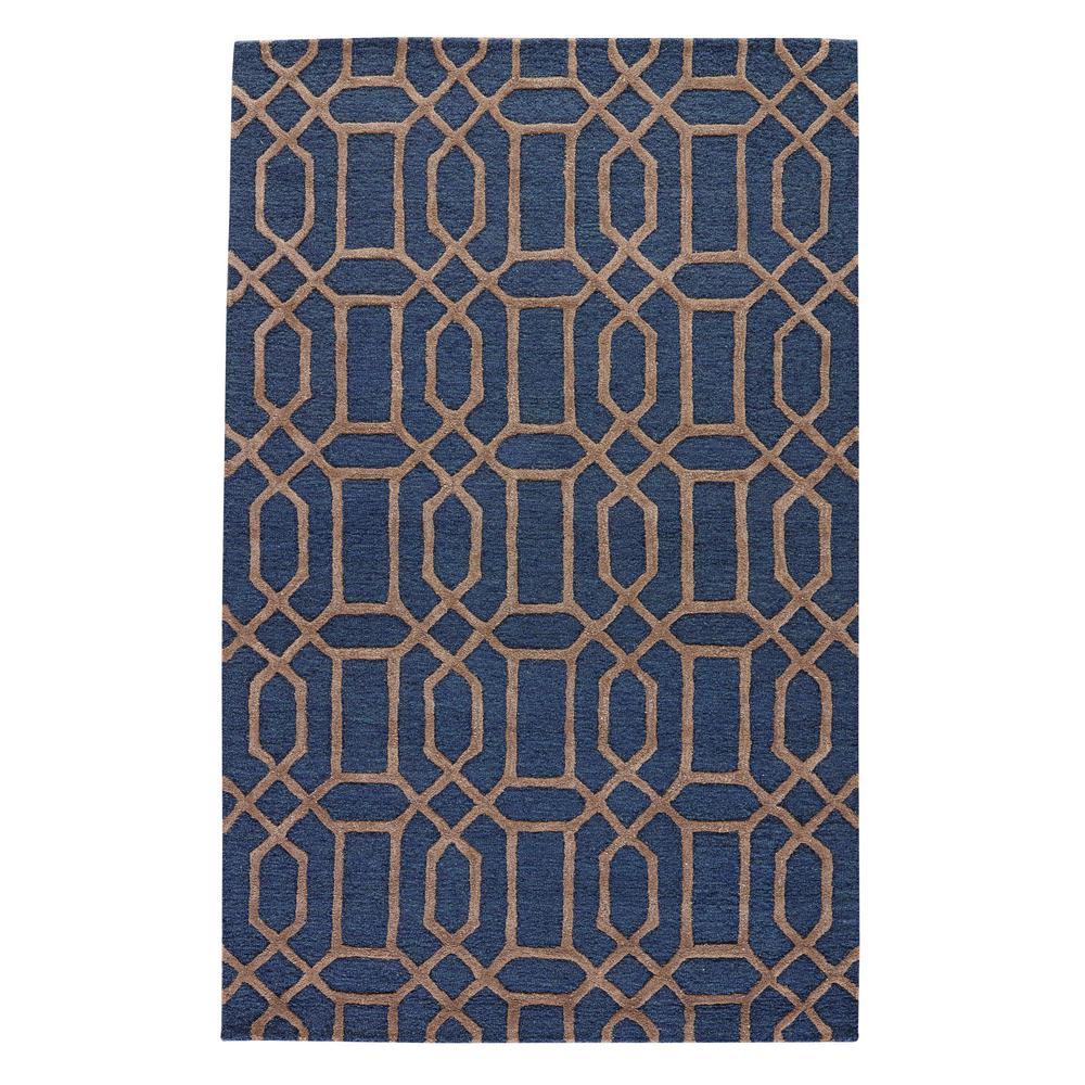 Kitchen Garden Jaipur: Jaipur Rugs Mazarine Blue 2 Ft. X 3 Ft. Trellis Accent Rug