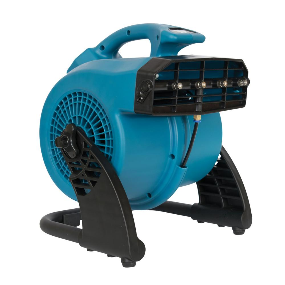 Superbe XPOWER 3 Speed Portable Outdoor Cooling Misting Fan