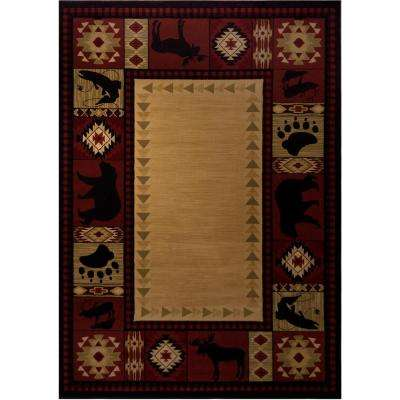Northern Territory Red 2 ft. x 3 ft. Area Rug