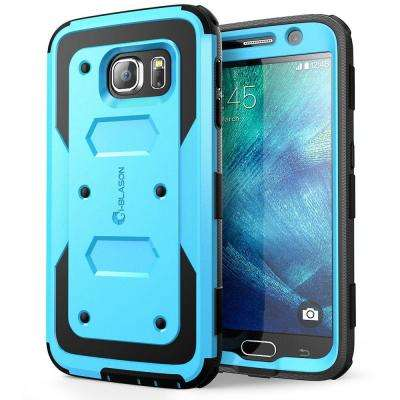 Armorbox Full-Body Case for Galaxy S6, Blue