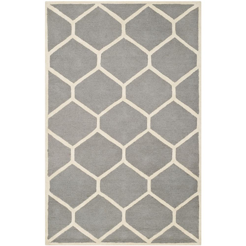 Safavieh Cambridge Silver Ivory 5 Ft X 8 Area Rug