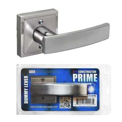 Satin Nickel Finish Dummy Door Lever