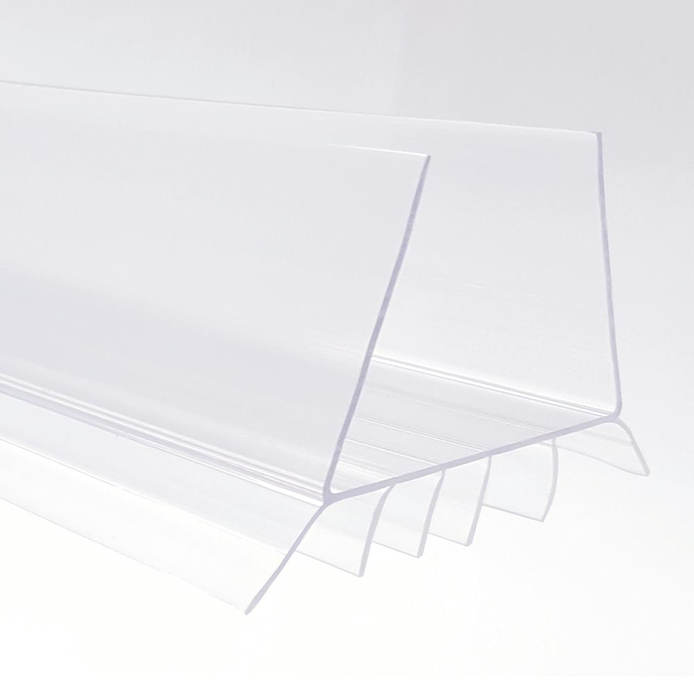 Store SKU #1002454566  sc 1 st  Home Depot & Frost King 1-3/4 in. x 36 in. Clear EZ-On Door Bottom-EZ77CL - The ...