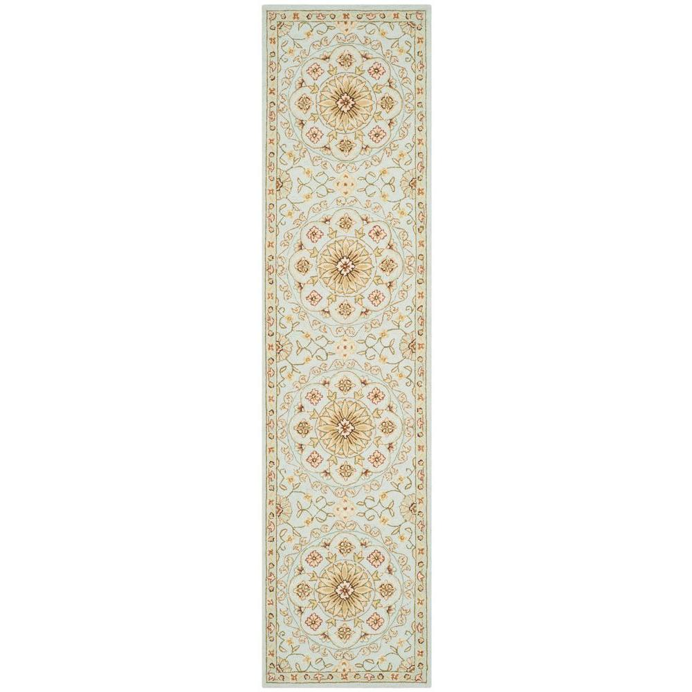 Safavieh Chelsea Teal/Green 3 ft. x 10 ft. Runner Rug