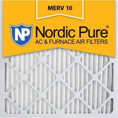 20 in. x 20 in. x 1 in. Dust Reduction Pleated MERV 10 - FPR 7 Air Filters (6-Pack)