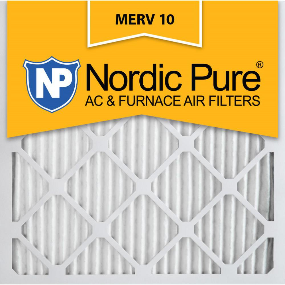 Nordic 25 in. x 25 in. x 1 in. Dust Reduction Pleated Mer...