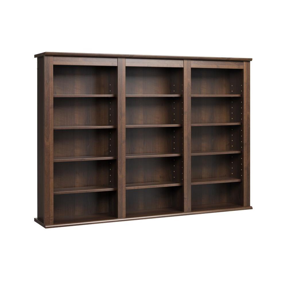 Enjoyable Prepac Black Media Storage Bma 0960 The Home Depot Theyellowbook Wood Chair Design Ideas Theyellowbookinfo