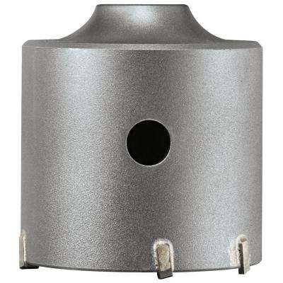 2-9/16 in. SDS-plus SPEEDCORE Thin-Wall Core Bit for Removal of Masonry, Brick, and Block