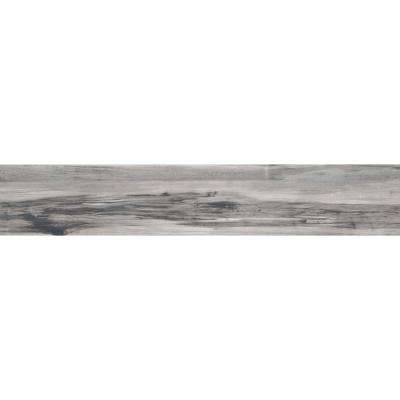 Theory Gray Matte 7.87 in. x 44.88 in. Porcelain Floor and Wall Tile (12.27 sq. ft. / case)