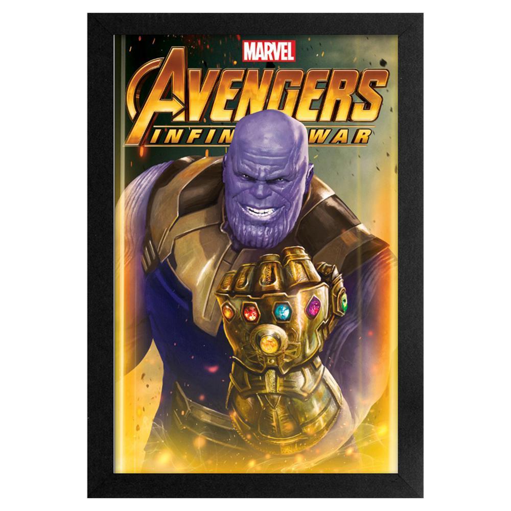Avengers- Infinity War- Thanos 11x17 Framed Print