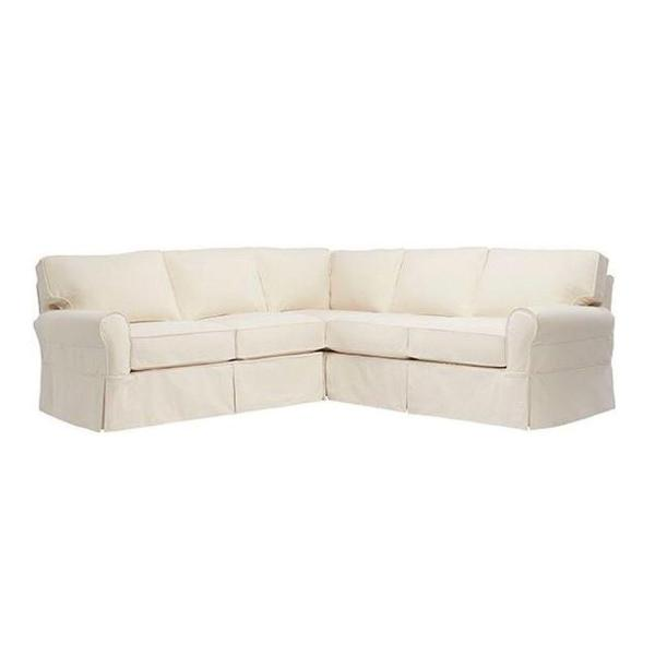 Home Decorators Collection Mayfair 2-Piece Classic Natural Sectional ...