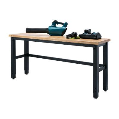 6 ft. W x 19 in. D Adjustable Height Workbench