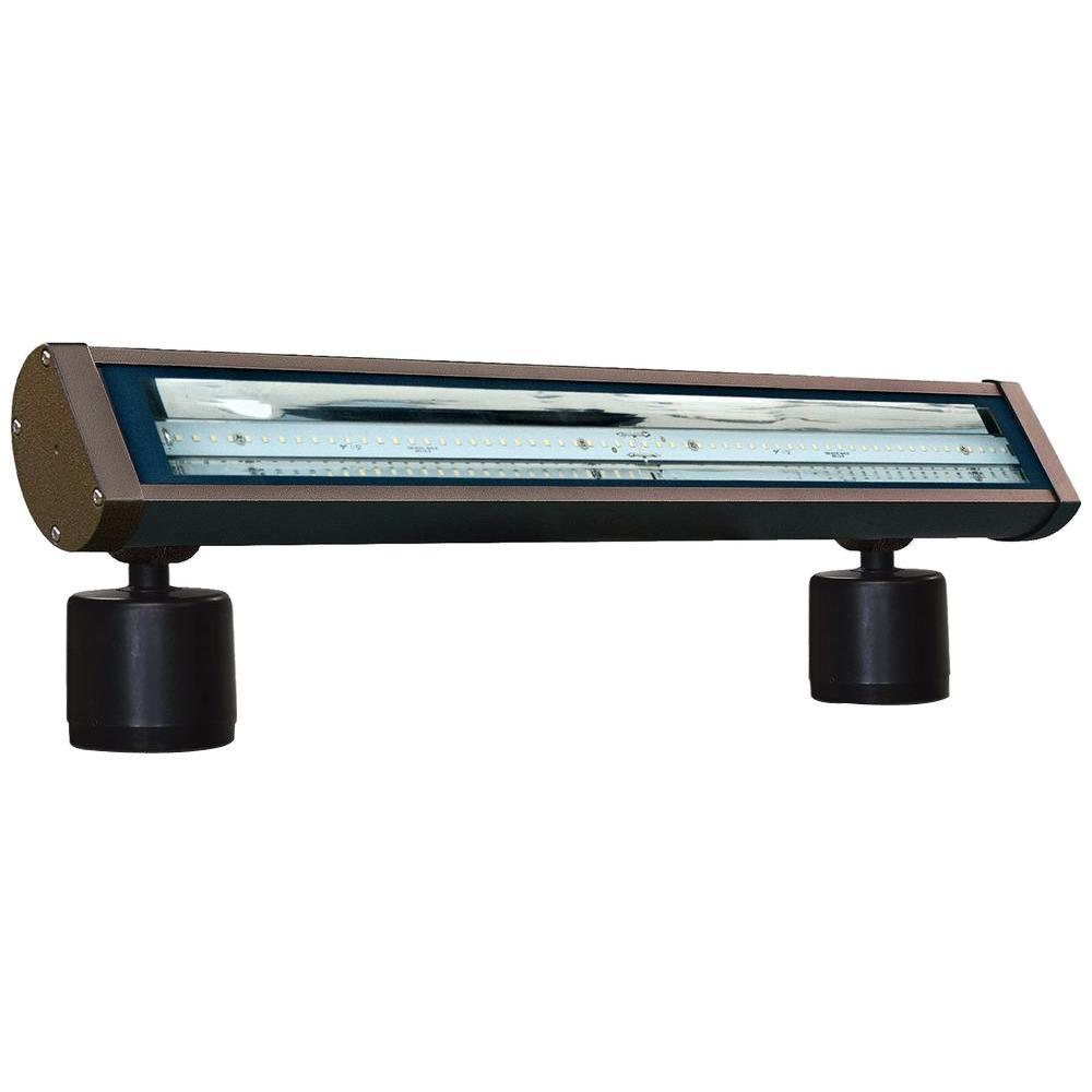 Flare 60-Light Bronze Outdoor LED Address Light