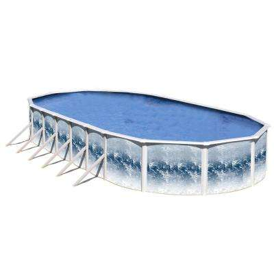 Yorkshire 30 ft. x 15 ft. x 48 in. Above Ground Pool Only