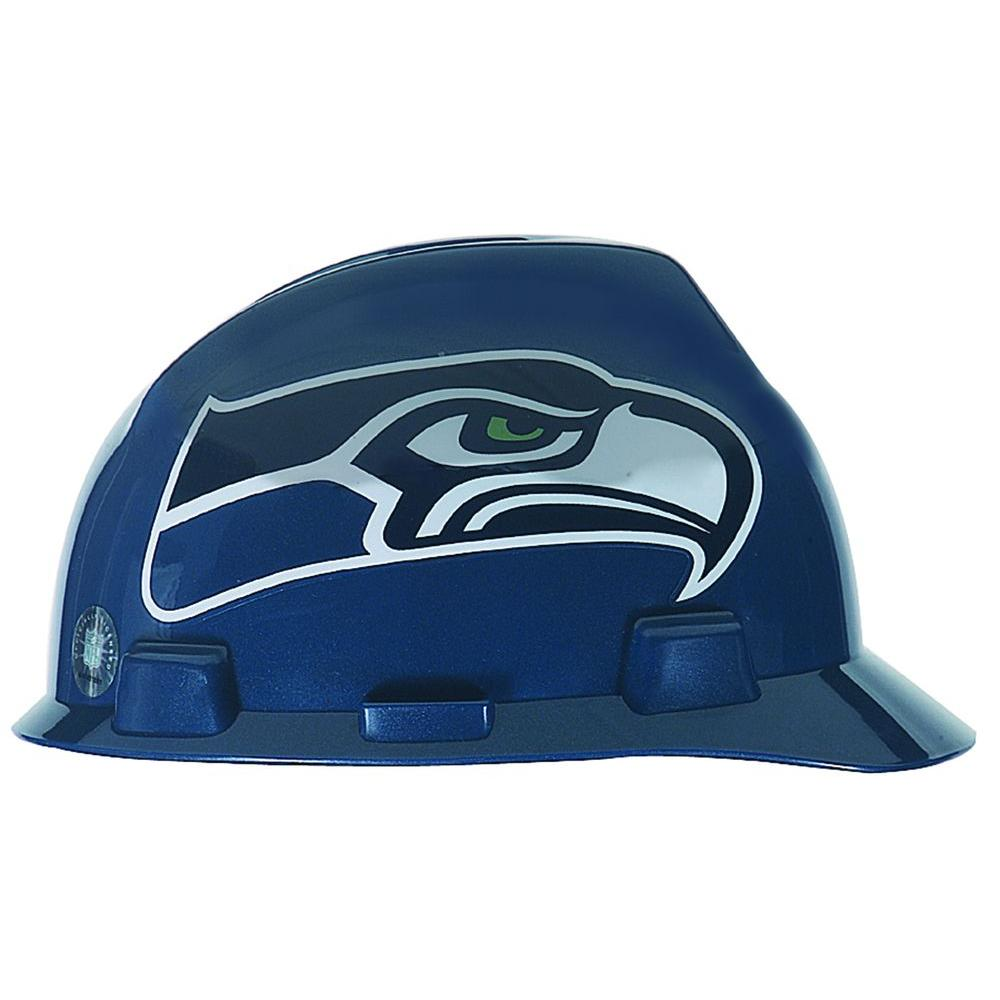 MSA Safety Works Seattle Seahawks NFL Hard Hat