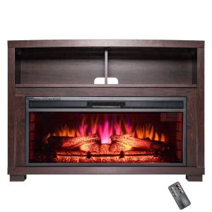 AKDY 44 in Freestanding Electric Fireplace Insert Heater