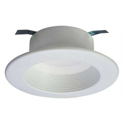 RL 4 in. White Bluetooth Smart Integrated LED Recessed Ceiling Light Trim, Tunable CCT (2700K-5000k) by HALO Home