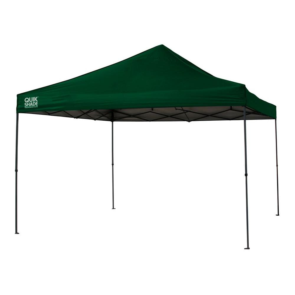 Quik Shade Weekender Elite 12 ft. x 12 ft. Instant Canopy in Green  sc 1 st  The Home Depot & Quik Shade Weekender Elite 12 ft. x 12 ft. Instant Canopy in Green ...