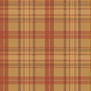 Chesapeake Austin Red Plaid Wallpaper Man33022 The Home