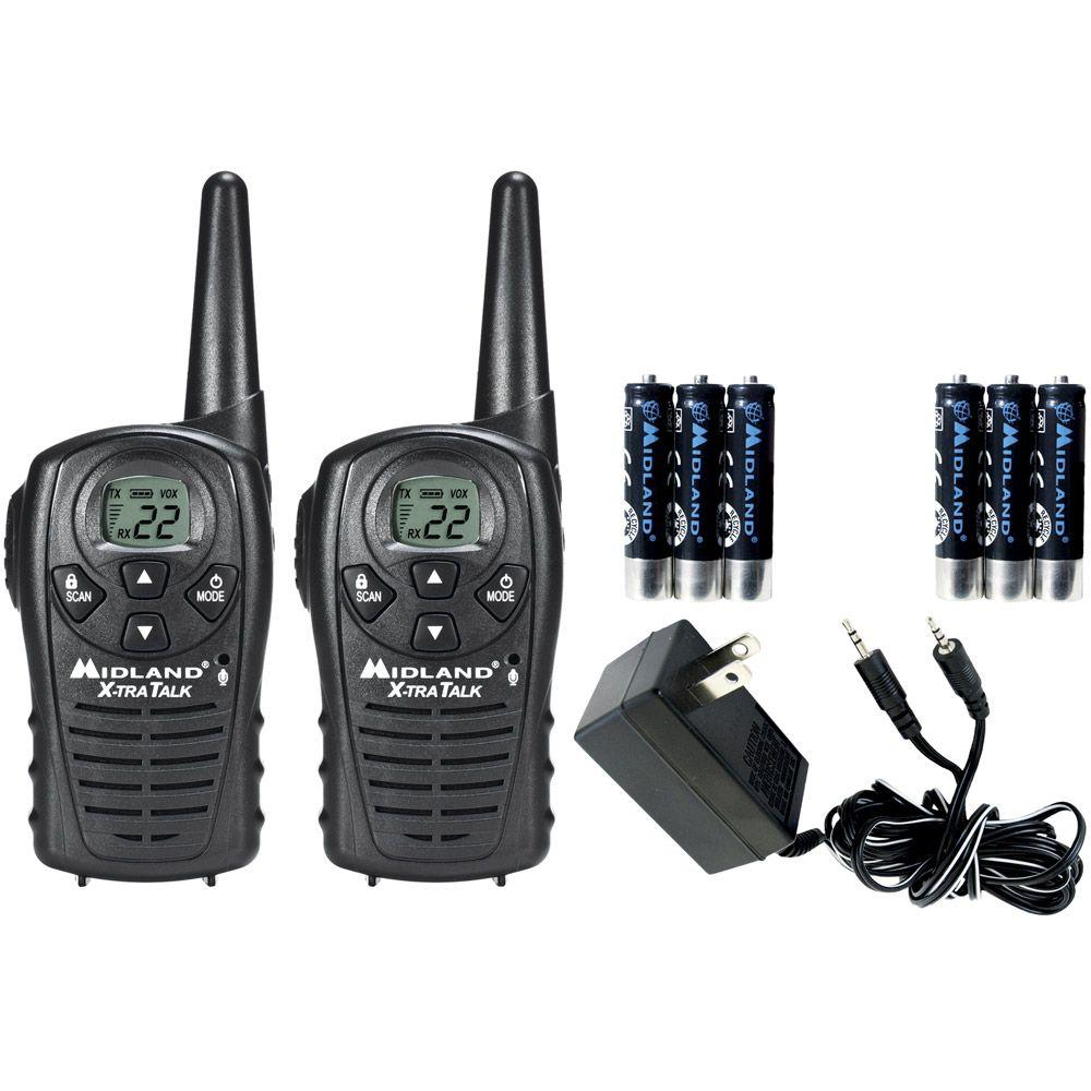X-TRA Talk GMRS 2-Way 18-Mile 22-Channel Radios