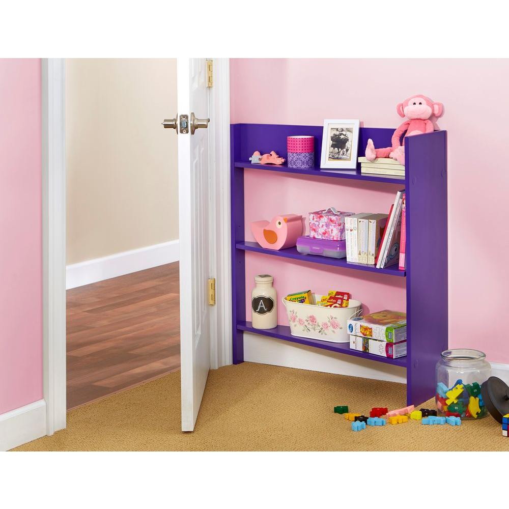 Foremost Heidi Junior Plum Behind the Door Kids Bookcase