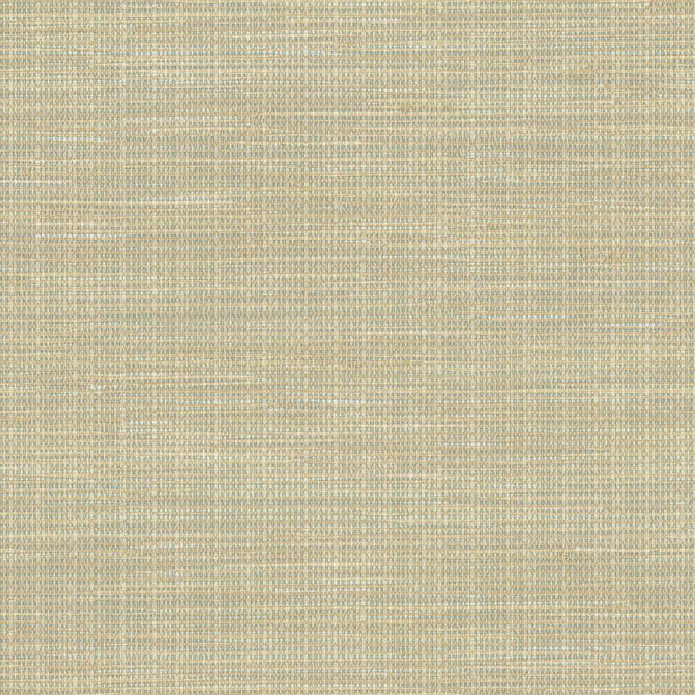 Faux Grasscloth Wallpaper: Chesapeake Kent Sky Faux Grasscloth Wallpaper Sample