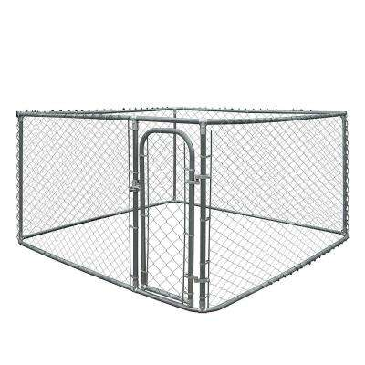 4 ft. H x 7.5 ft. W x 7.5 ft. L Dog Kennel