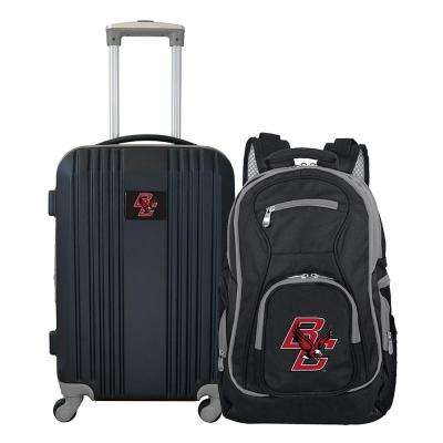 NCAA Boston College Eagles 2-Piece Set Luggage and Backpack