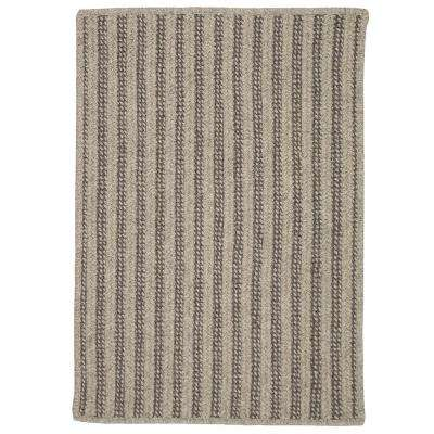 Virginia Gray 6 ft. x 9 ft. Braided Area Rug